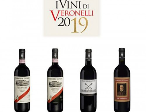 Guida I vini di Veronelli  2019 and the Marchesi Gondi – Tenuta Bossi