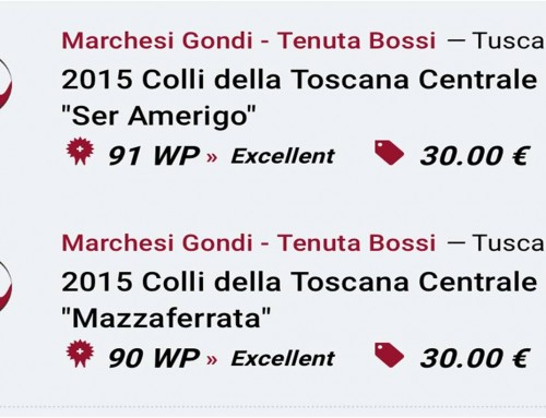 Weinplus and the Marchesi Gondi – Bossi Estate