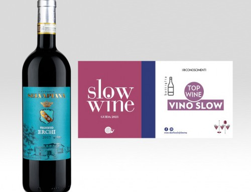 Fattoria di Selvapiana obtains the BOTTIGLIA by Slow Wine 2021