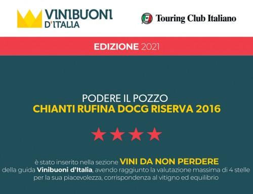 Vini Buoni d'Italia 2021 Podere il Pozzo