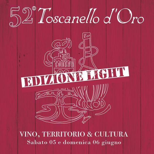 5 e 6 Giugno 2021 - 52° Toscanello d'Oro Edizione Light