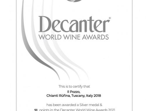 Medaglia argento DECANTER WORLD WINE AWARDS 2021